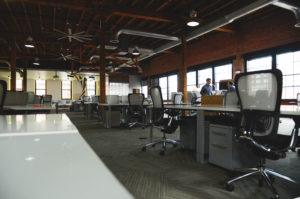 Modern creative office space